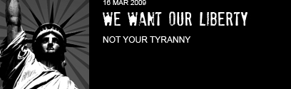 we want our liberty